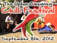 Hot Chilli Eating Competition at Upton Cheyney Chilli Festival