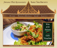 Jintana Thai Restaurant, Kendal & Bowness-in-Windermere, Cumbria