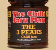 Three Peaks Chilli Jam