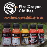 Fire Dragon Chillies, NZ